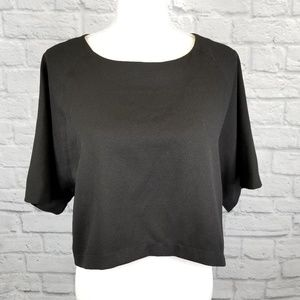 ASTR Boxy Cropped Blouse